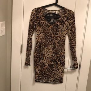 Dresses & Skirts - Cheetah Laced Dress